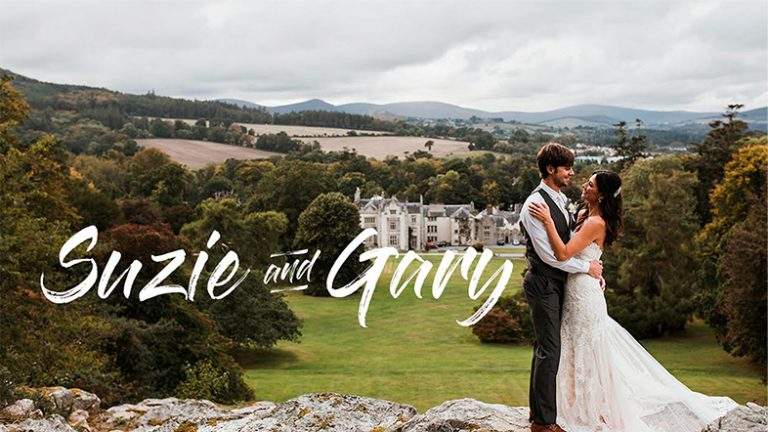 Suzie and Gary Wedding Film at Kilruddery House | Hearts of Gold Wedding Films in Ireland